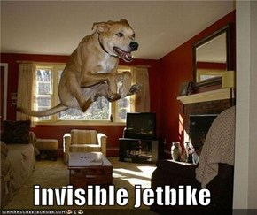 invisible jetbike