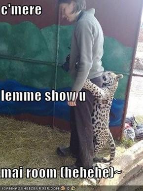 c'mere lemme show u mai room (hehehe)~