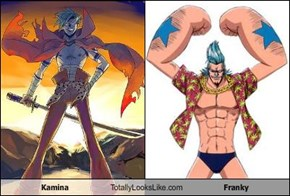 Kamina Totally Looks Like Franky