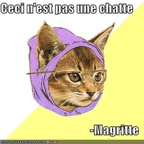 Ceci n'est pas une chatte  -Magritte