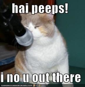 hai peeps!   i no u out there
