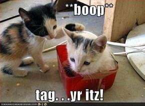 **boop**  tag. . .yr itz!