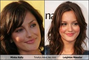 Minka Kelly Totally Looks Like Leighton Meester