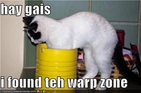 hay gais  i found teh warp zone