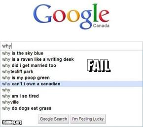 Autocomplete-Me: Canadian FAIL!