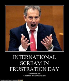 INTERNATIONAL SCREAM IN FRUSTRATION DAY