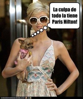 La culpa de todo la tiene Paris Hilton!