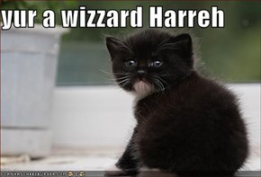 yur a wizzard Harreh