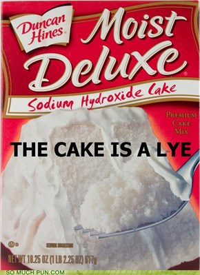 Sodium Hydroxide Cake