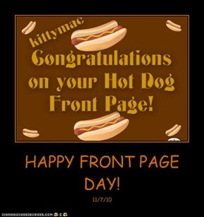 HAPPY FRONT PAGE DAY!