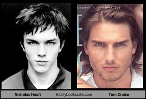Nicholas Hoult Totally Looks Like Tom Cruise