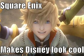 Square Enix  Makes Disney look cool