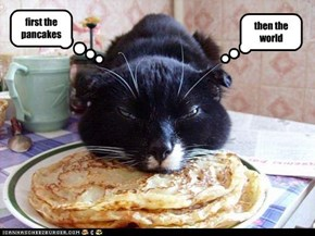 first the pancakes