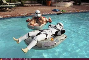 Stormtrooper vacation