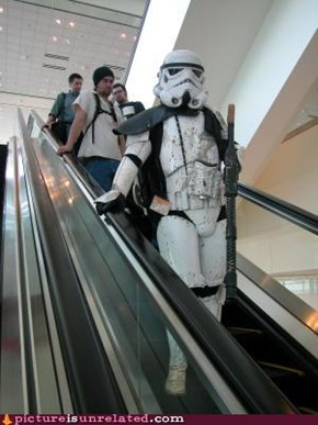 Stormtrooper Shopping Mall