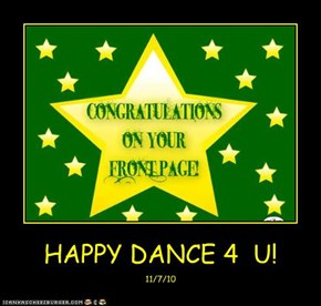 HAPPY DANCE 4  U!