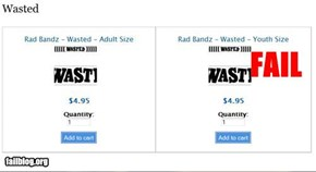 Wasted Youth Size Fail