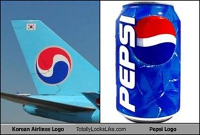 Korean Airlines Logo Totally Looks Like Pepsi Logo