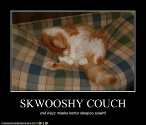 SKWOOSHY COUCH