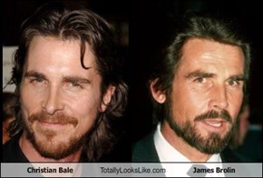 Christian Bale Totally Looks Like James Brolin