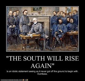 """THE SOUTH WILL RISE AGAIN"""