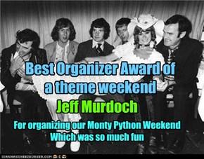 Best organizer Award