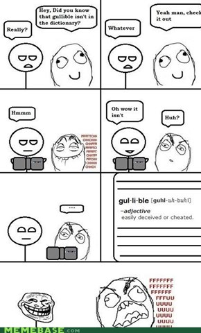 Gul•li•ble