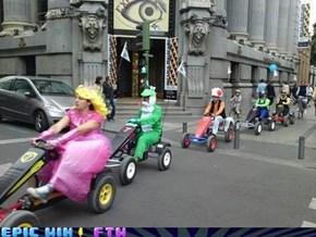 IRL Mario Kart