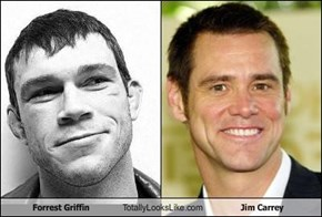 Forrest Griffin Totally Looks Like Jim Carrey