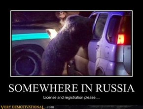 SOMEWHERE IN RUSSIA