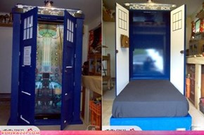 TARDIS: For A Great Night's Sleep