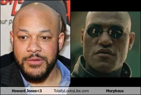 Howard Jones<3 Totally Looks Like Morpheus