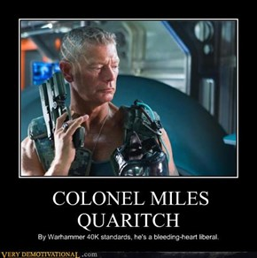 COLONEL MILES QUARITCH
