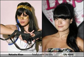 Natasha Khan Totally Looks Like Lily Allen