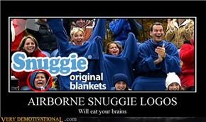 AIRBORNE SNUGGIE LOGOS