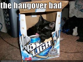 the hangover bad