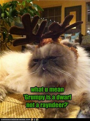 donner, blitzen and grumpy, right?