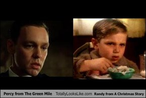 Percy from The Green Mile Totally Looks Like Randy from A Christmas Story