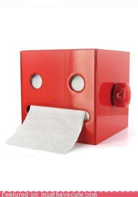 Robot TP Dispenser