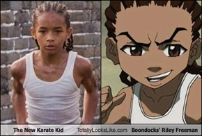 The New Karate Kid Totally Looks Like Boondocks' Riley Freeman