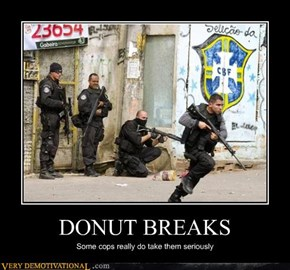DONUT BREAKS