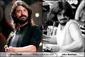 Dave Grohl Totally Looks Like John Bonham