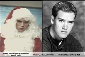 Robert Brian Wilson in Silent Night Deadly Night Totally Looks Like Mark Paul Gosselaar