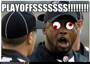 PLAYOFFSSSSSSS!!!!!!!!