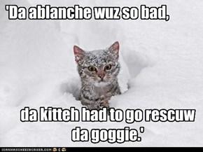 'Da ablanche wuz so bad,