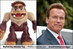 Bigfoot the Monster Toy Totally Looks Like Arnold Schwarzenegger