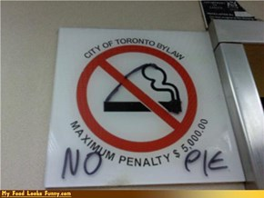 Pie-Eating Punishable by Law in Canada