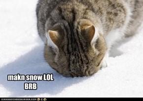 makn snow lolz