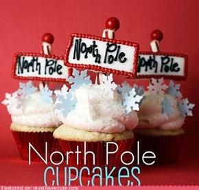 Epicute: North Pole Cupcakes