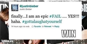 Bieber Acceptance WIN